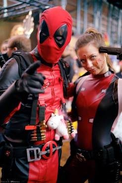 Mr Deadpool & Deadpoolette