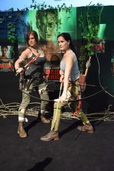 "Soirée ""Tomb Raider"""