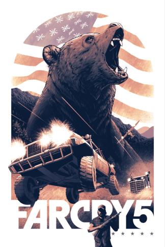 Far Cry Geek-Art : Coke Navarro (Espagne)
