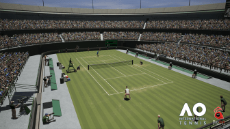 AO International Tennis : Screenshot
