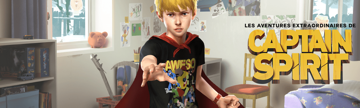 ^GAME Les aventures extraordinaires de Captain Spirit