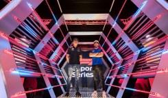 F1 Esports 2018 Draft - Max Verstappen and Pierre Gasly
