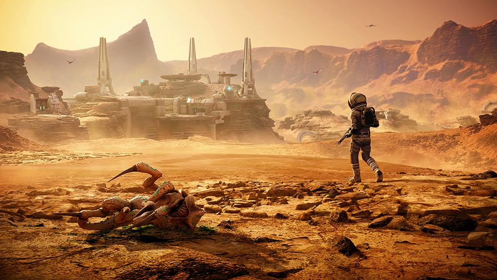 "Far Cry 5 : ""Lost On Mars"" Artwork"