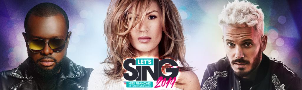 ^GAME Let's Sing 2019 : Hits Français et Internationaux