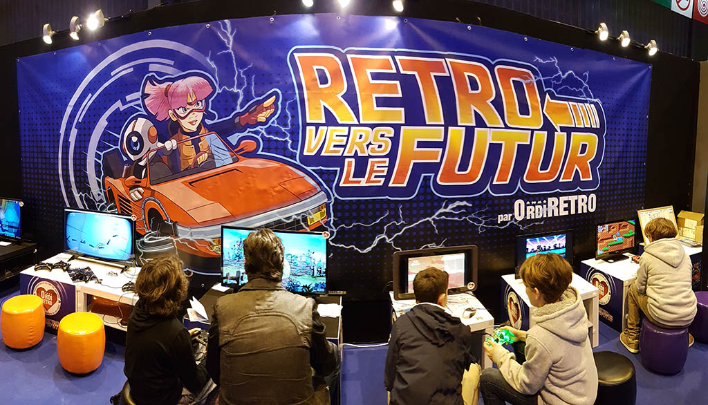 Paris Games Week 2017 : Stand OrdiRétro