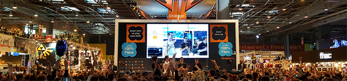 Paris Games Week 2017 - Stand Orange