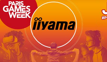 Paris Games Week 2018 : iiyama