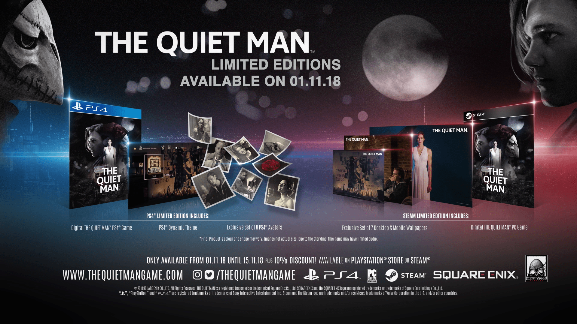 THE QUIET MAN : Limited Edition