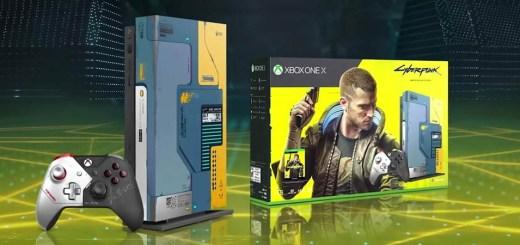Xbox One X Cyberpunk 2077 Edition