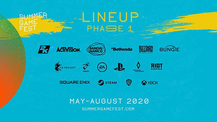 Summer Game Fest 2020 : Phase 1