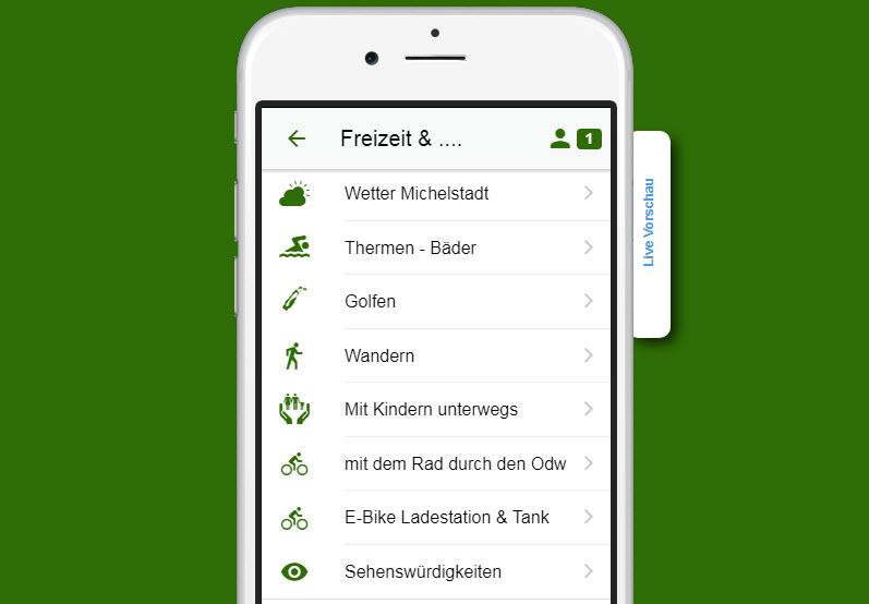 APP Odenwald Plus mehr – Freizeit