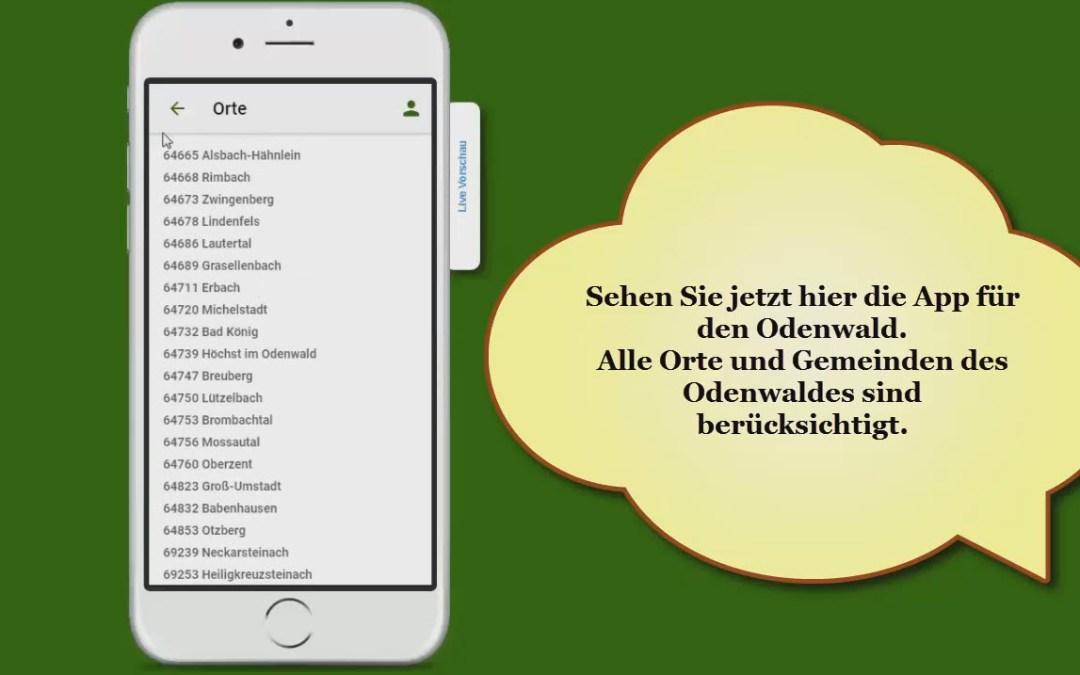 APP Odenwald Plus mehr