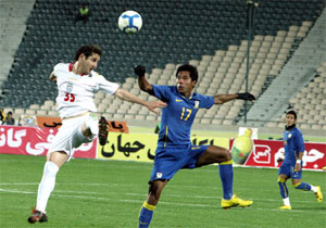 Football : l'Iran prive la Thaïlande d'Asian Cup 2011