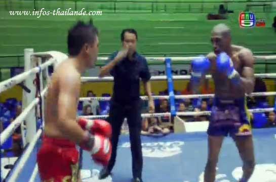 Muay-thaï : Charles François vainqueur au Lumpinee !
