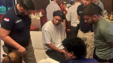Photo de International : Arrestation de Ronaldinho au Paraguay
