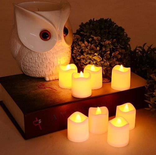 lilin LED sebagai hadiah ibu