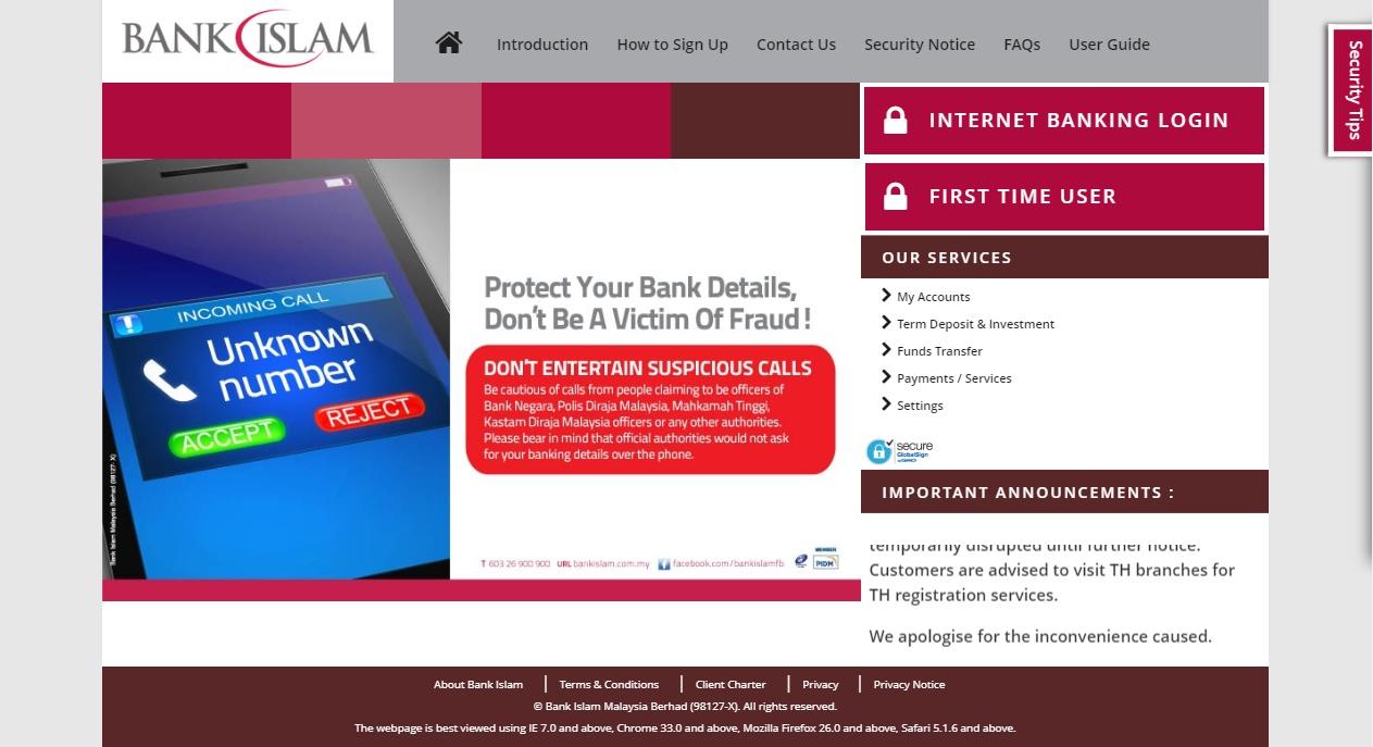 Terbaru Cara Daftar Bank Islam Online 2020 Infosantai