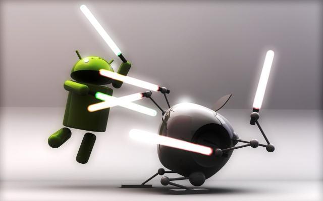 iPhone atau android