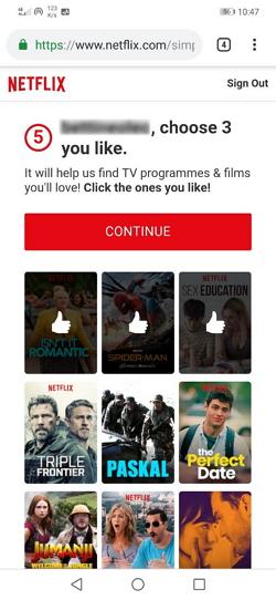 pilih 3 movie netflix