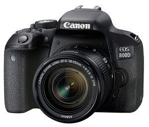 kamera dslr canon EOS 800D