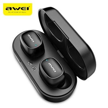 Awei T13 earphone bluetooth bajet