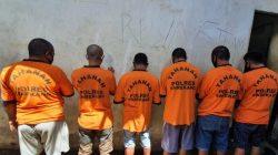 Enam Pelaku Curnak Dari Kecamatan Maiwa Diamankan Polres Enrekang