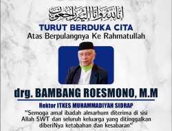 Terkonfirmasi Covid 19, Rektor ITKES Muhammadiyah Sidrap Meninggal Dunia