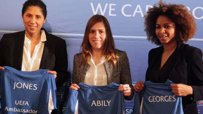 Les ambassadrices de l'UEFA à la FFF