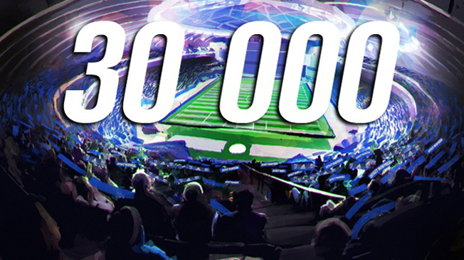 30 000 billets vendus pour le match mercredi