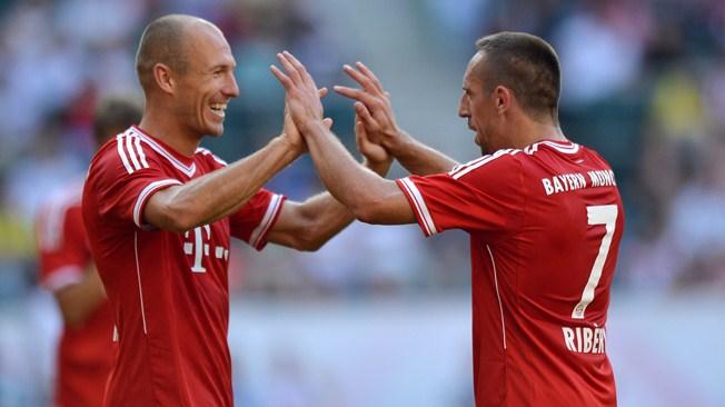 Bayern – Robben : «Ribéry a encore besoin de temps»