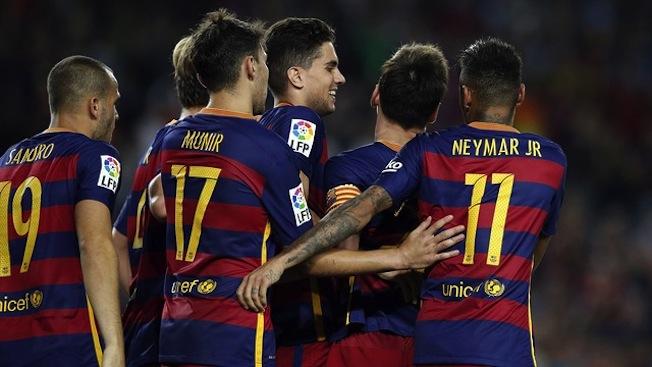 Le Barça fait cavalier seul en tête de la Liga