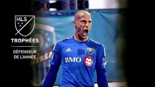 Le défenseur Laurent Ciman nommé Défenseur de l'année dans la MLS