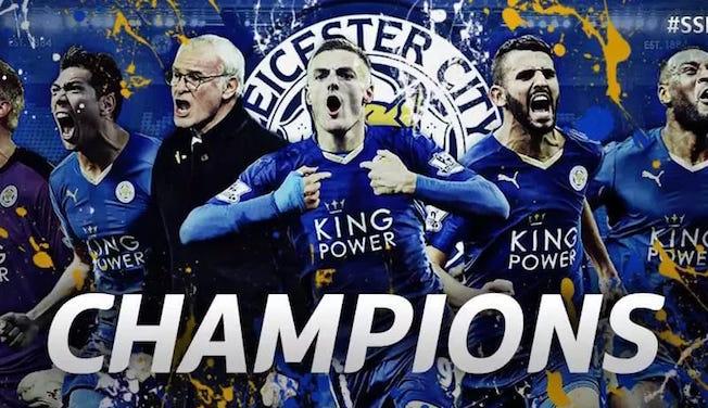 Leicester City champions d'Anglettere: les réactions sur le web