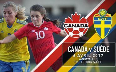 Canada Soccer annonce un match de l'équipe nationale féminine contre la Suède en avril