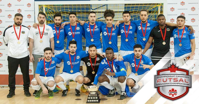 Le Sporting Outlaws FC de Montréal donne au Québec son premier titre canadien de futsal