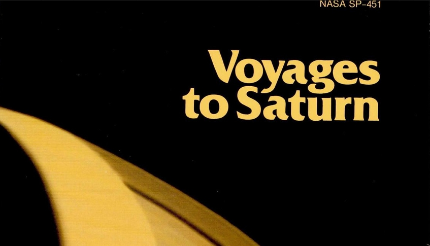 Libro. Voyages to Saturn. SP-451. Color y b/n