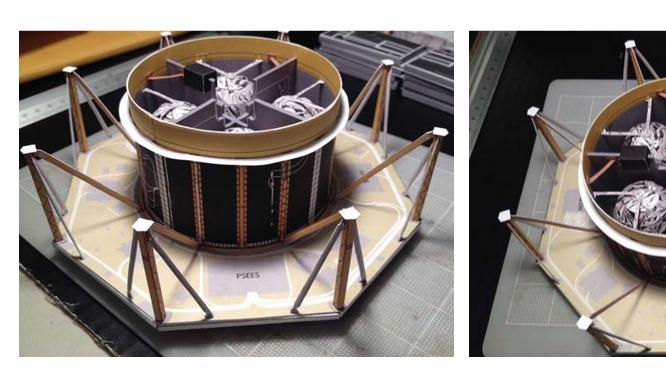 5 PDFs. Modelos de papel de los satélites MMS