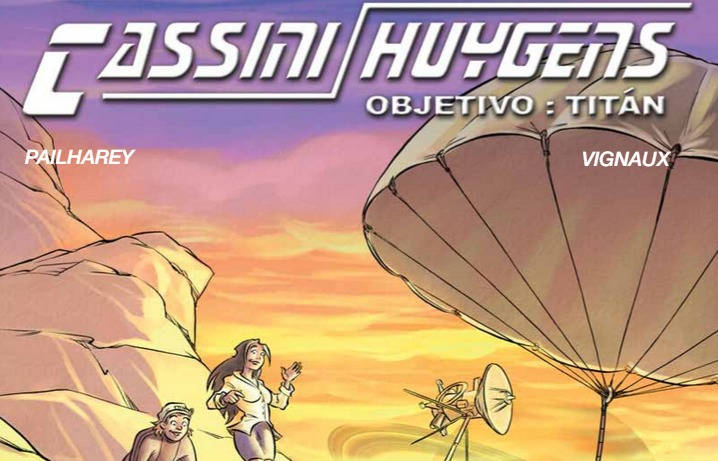 PDF. Cassini-Huygens. Objetivo Titán. Cómic en español. BR-228ES