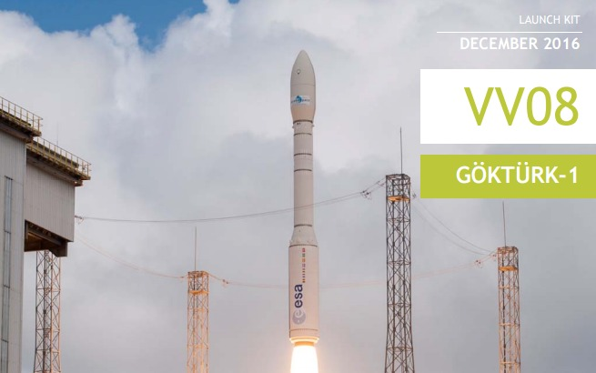 2 PDF. Vega Flight VV08 - GokTurk-1 Launch Press Kit