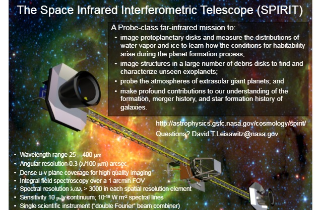 PDF. Observatorio. The Space Infrared Interferometric Telescope (SPIRIT)