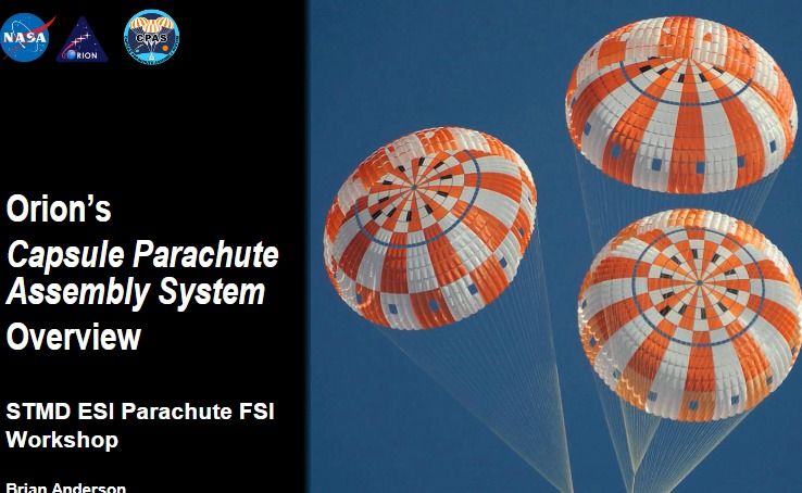 PDF. Orion's Capsule Parachute Assembly System Overview