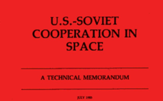 Libro. U.S.-Soviet Cooperation in Space - 1985