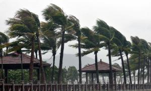Hujan ringan dan angin kencang diprediksi masih akan melanda Sumatera Barat hingga penghujung tahun.