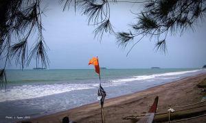 Suasana Pantai Sunur, Pariaman