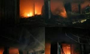 Kebakaran Pasar Sungai Geringging