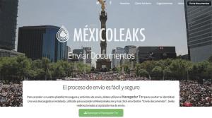 MexicoLeaks; https://mexicoleaks.mx/enviar.html