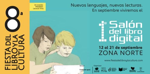 Salón del Libro Digital en la Fiesta del Libro de Medellín (Colombia)