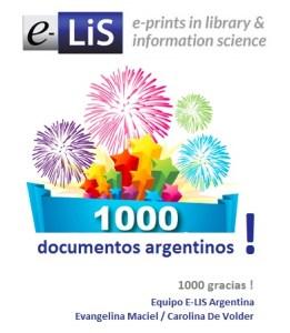 Documentos argentinos en E-LIS