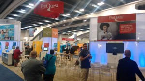 Estand de ProQuest