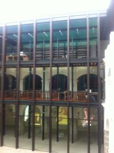 Biblioteca Juan de Cordova.  Foto de la autora